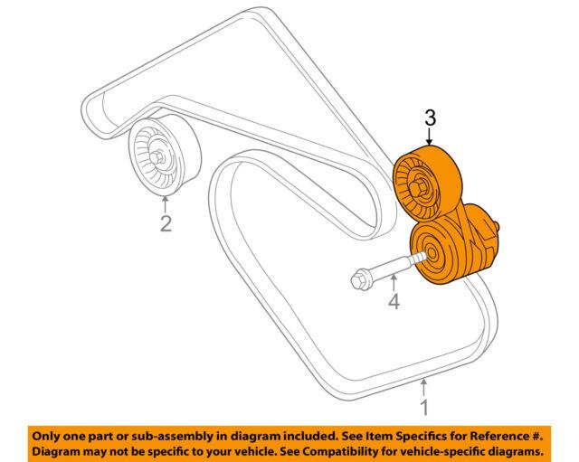 1998-2003 Jaguar Xj8 Engine Belt Tensioner Pulley Litens NCA7739AD