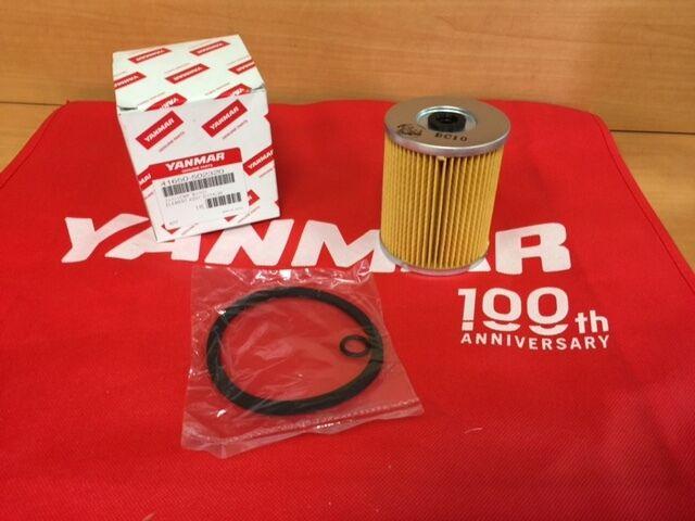 3 Genuine OEM Yanmar Fuel Filter Element 41650-502320 for sale