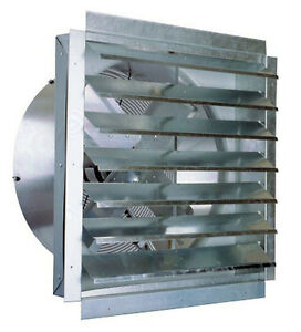 "Industrial Exhaust Fan 24"" Bathroom Kitchen Garage Home"