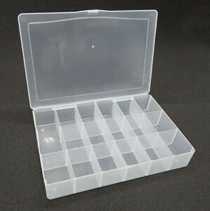 Storage Box Organizer Bead Craft Screws Nuts Bolts Darice