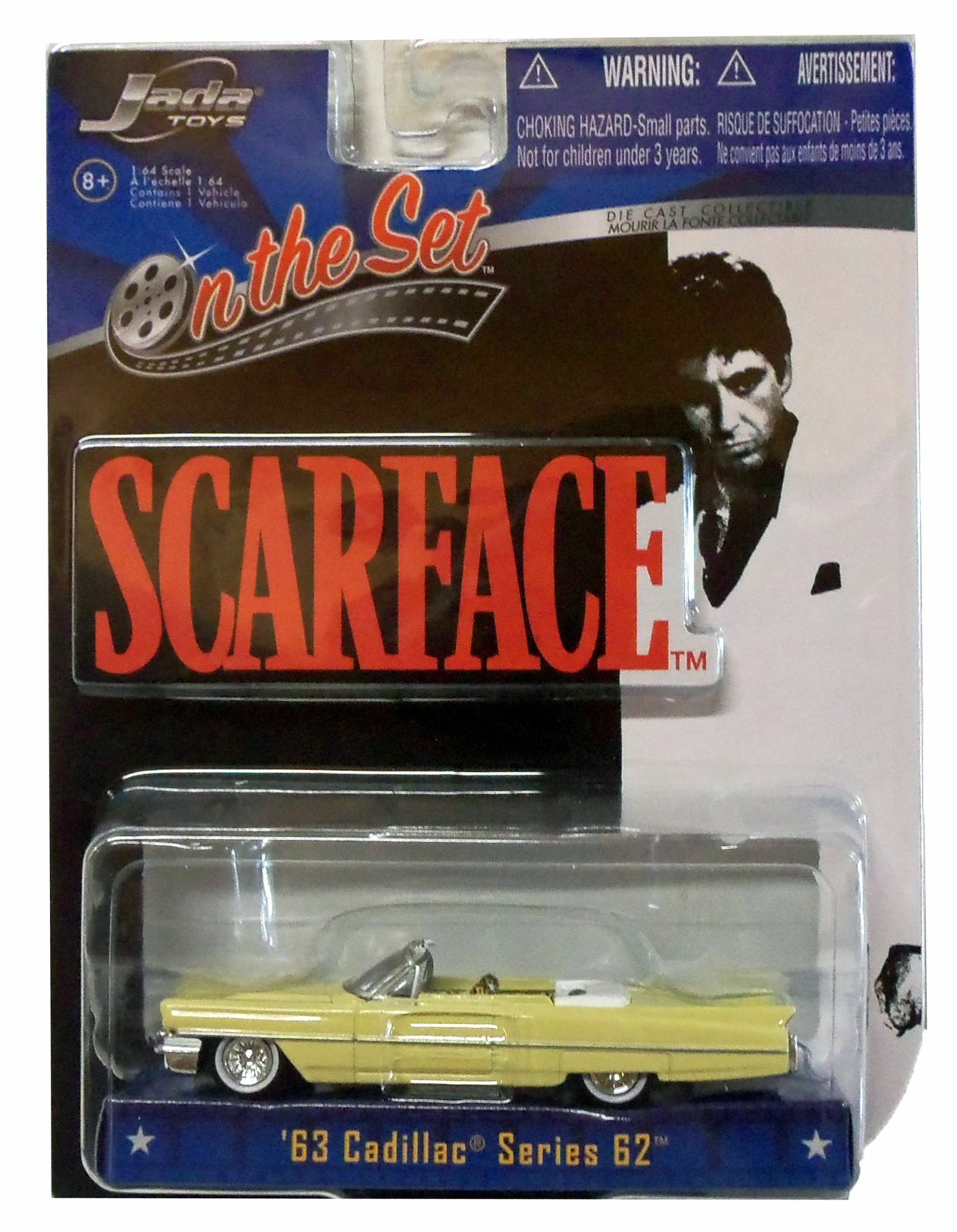 Bad Guy Set It Off Chords Scarface 1963 Cadillac Series 62 Convertible Diecast Car