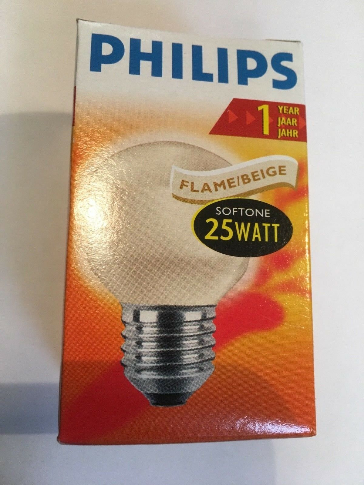 Philips Softone Flame Rare Philips 40w Softone T45 1 Year 1000 Hours Flame Beige E27 Drops