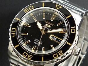 Seiko Mens 5 Sports Japan Automatic Watch Snzh57 Snzh57j1