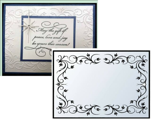 Nellie Snellen Embossing Folder \ - frame for cards