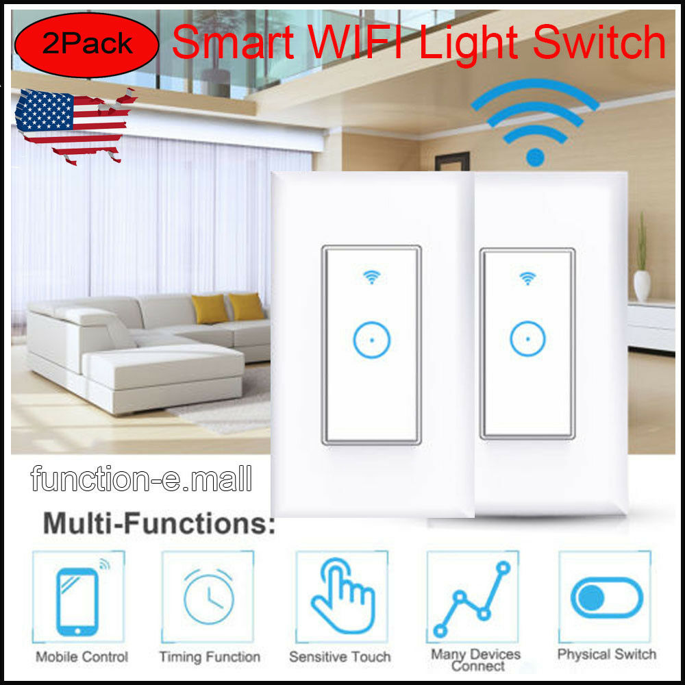 Bettwäsche 200x220 Amazon 2pcs Usa Smart Wifi Light In Wall Compatible With Amazon
