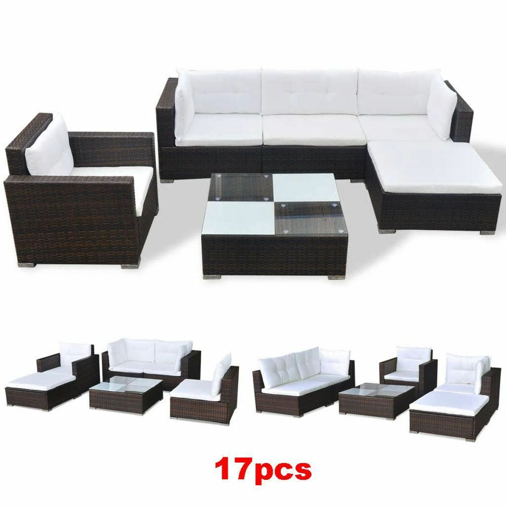 Patio Furniture Clearance Sets Outdoor Rattan Sofa Garden Conversation Sectional For Sale Online - Grey Garden Furniture Clearance
