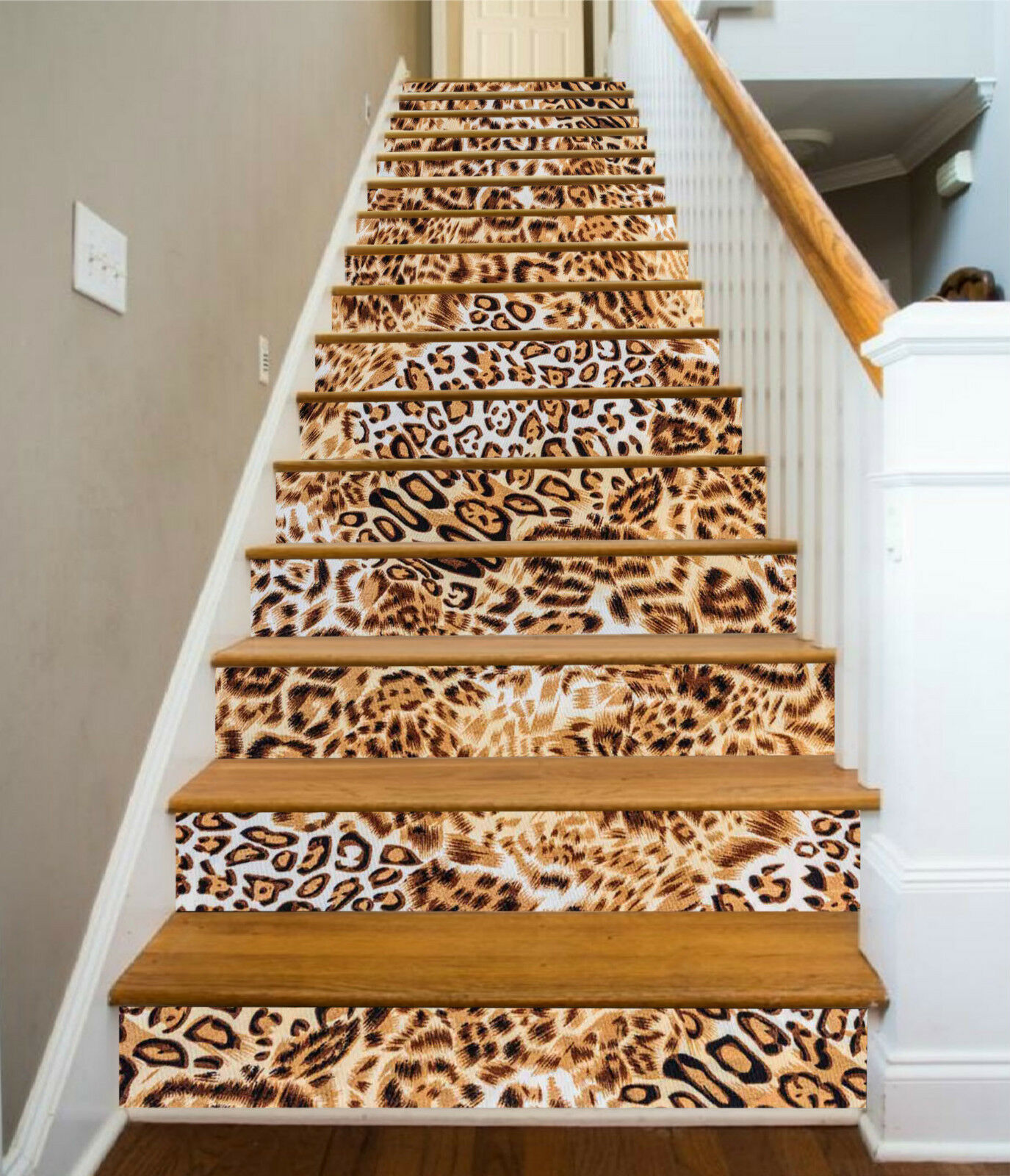 Leder Muster Tapete Save Up To 70 Discount 3d Leopard Leder 03 Stair Stair Stair Risers