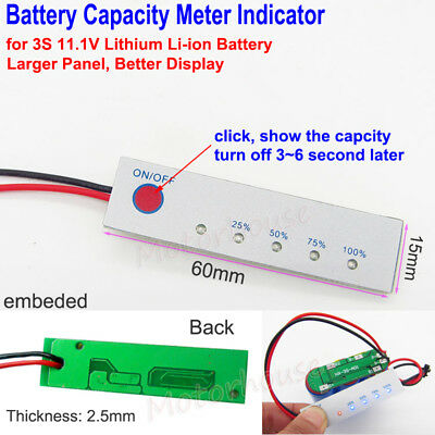 Battery Capacity Meter Level Indicator collection on eBay!