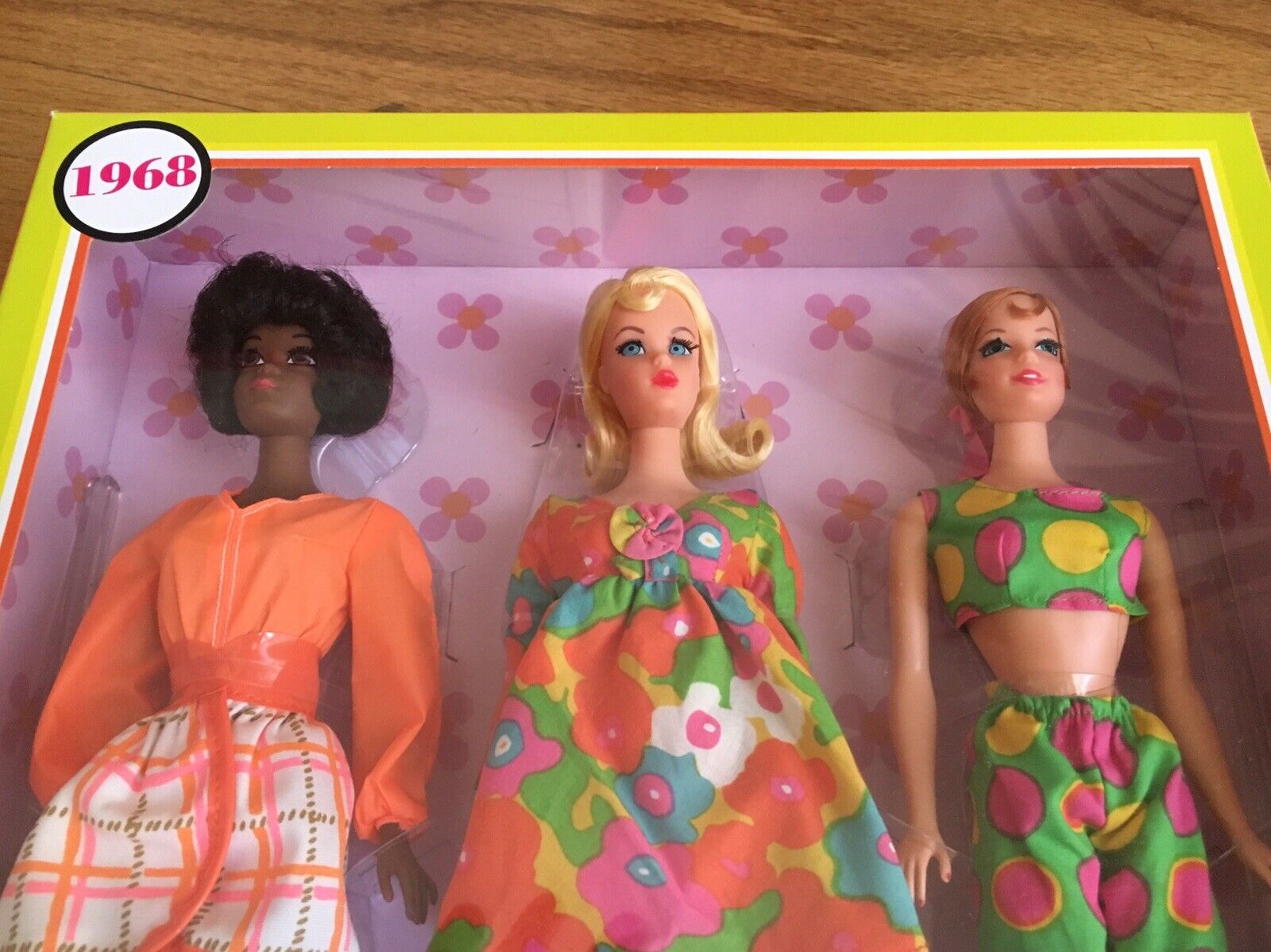 Barbie Badezimmer Set Barbie Barbie Barbie Mod Friends Repro 1968 Nrfb Mint 8bc955