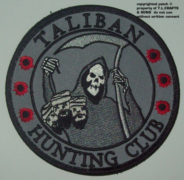 Taliban Hunting Club Death Reaper Head Hunter Hook Morale Military