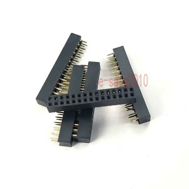 10pcs Pitch 2mm 2x15 30 Pin Female Double Row Straight PCB Header