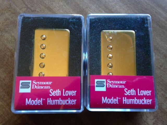 Seymour Duncan SH-55 Seth Lover Bridge Humbucker - gold 4 conductor