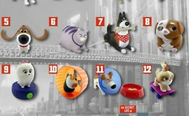 Mcdonald S Russia Toy Happy Meal 2019 The Secret Life Of