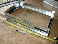 "Return Air Filter Rack 25 x 16 x 1"" filter,duct work,hvac"