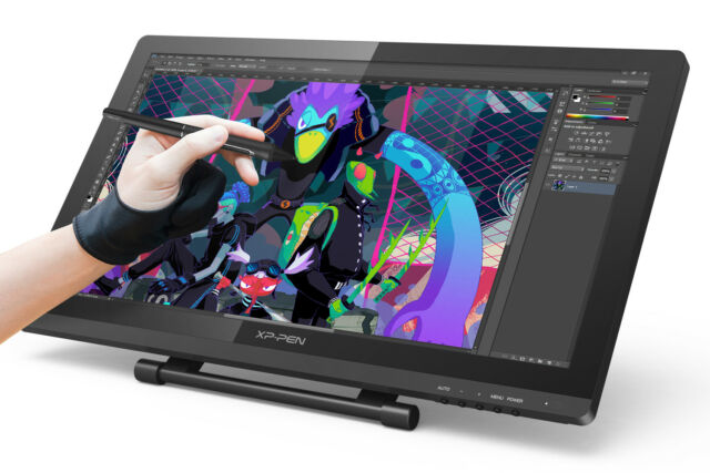 Design Tablett Xp-pen Artist22 Pro Ips Drawing Tablet Graphics Pen