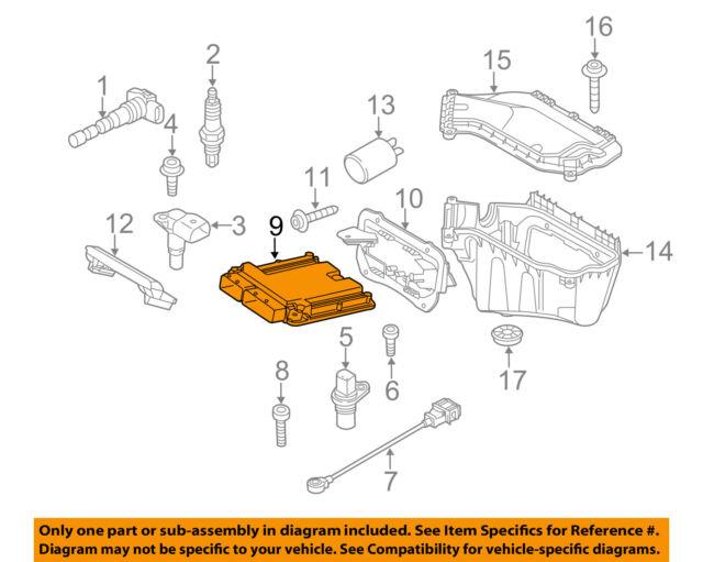 12 Audi Q5 Engine Control Module Computer ECM ECU OEM 8R0907115P for