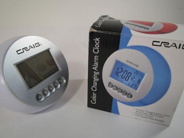 Craig Travel Alarm Clock Instructions Find Your World