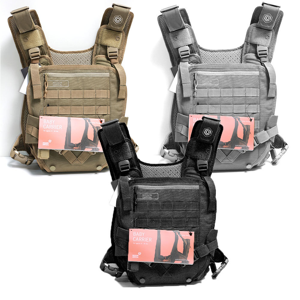 Infant Carrier Military Mens Mission Critical Military Tactical Baby Carrier Front Carry For Dad Father