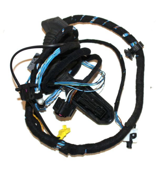 BMW OEM E46 Rear Door Wiring Harness Driver or Passenger Cable Left