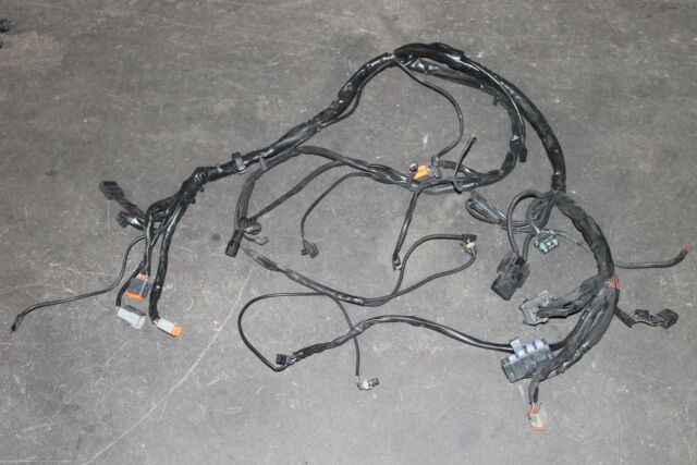 737 05 HARLEY-DAVIDSON ELECTRA GLIDE WIRE HARNESS MAIN FRAME ENGINE