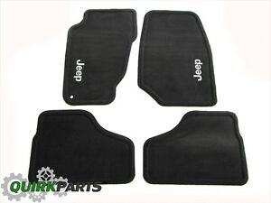 02 04 Jeep Liberty Dark Slate Carpet Floor Mats Front