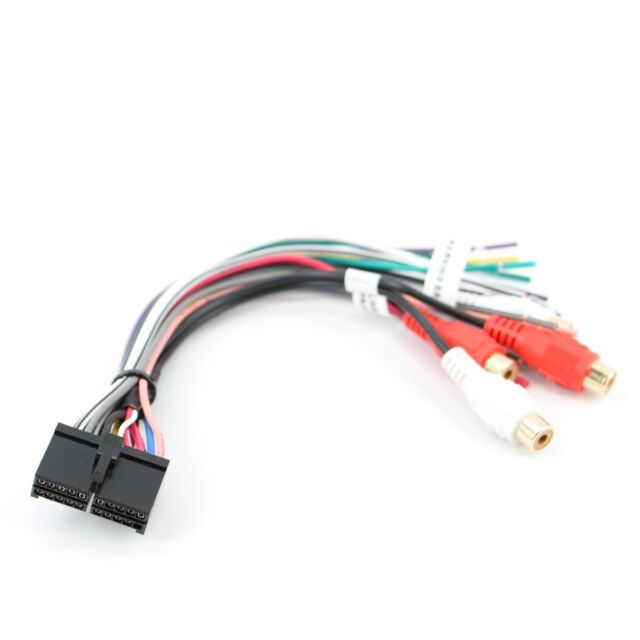 Xtenzi 20 Pin Dual Xdvd8180 CD Mp3 DVD TV Power Wire Harness for