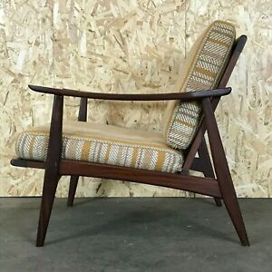 60er 70er Years Teak Armchair Easy Chair Loungechair - Teak Sessel Modern