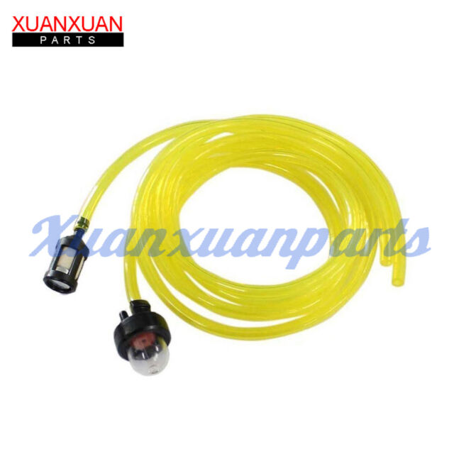 Snap in Primer Bulb  Fuel Filter With Fuel Line for McCulloch