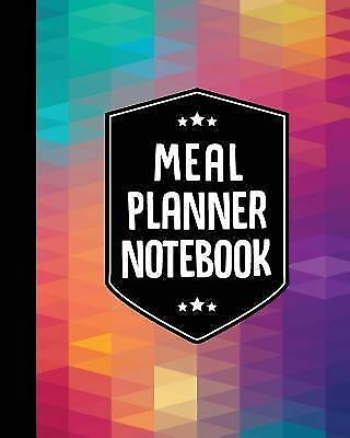 Meal Planner Notebook  Weekly Meal Planner Book - 50 Weeks Special