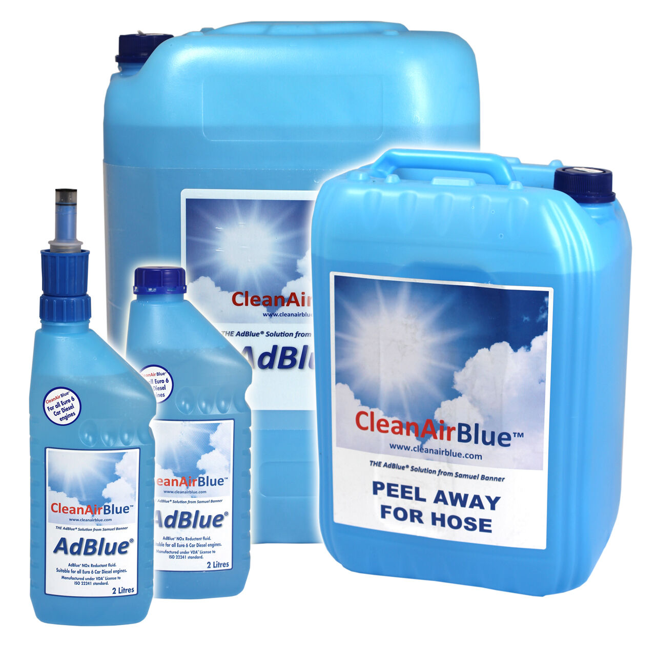 Ad Blue Cleanairblue Adblue For Audi Diesel Cars From 2l 1000l