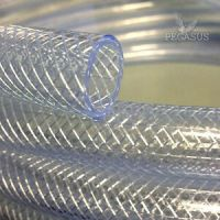 Clear PVC Braided Hose - Food Grade - Oil / Water / Gases ...