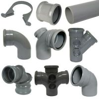 """FLOPLAST"" 110mm Grey Soil Pipe and Fittings 