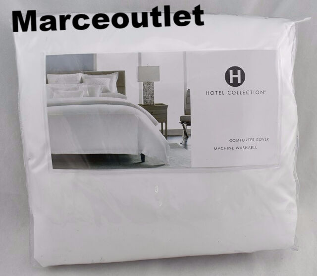 Hotel Collection Embroidered Frame Cotton Full Queen Duvet
