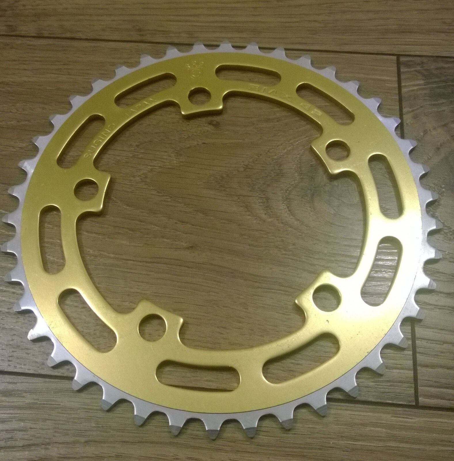 Gold S Gold Bmx 45t Nos Chainring Old School Bmx Made Japan 1980 S In