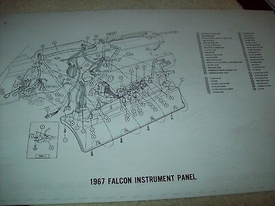 For 1967 Ford Galaxie 500 Wiring Diagrams Wiring Schematic Diagram