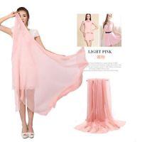 Long Wraps Shawl Beach Silk Scarf lot Women's Silk Solid ...