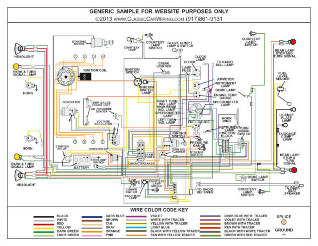 53 Ford Truck Wiring Diagrams Wiring Diagram