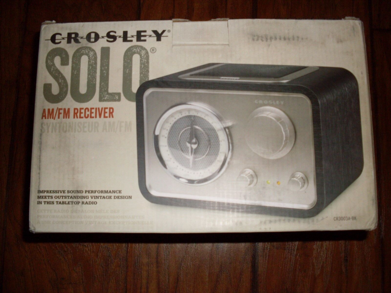 Crosley Radio Crosley Radio Solo Cr3003a Bk Am Fm Tabletop