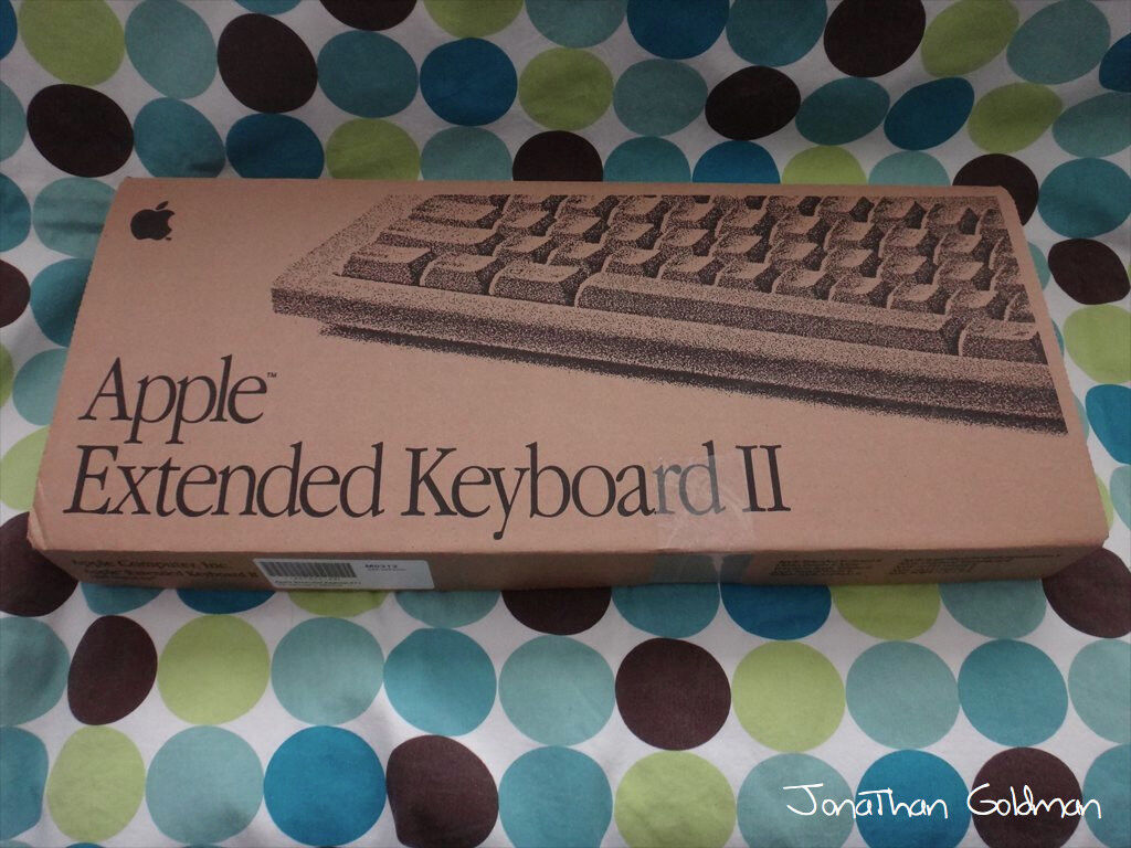 Keyboard Kuchen Vintage Apple Extended Keyboard Ii M0312 1990 With Cord