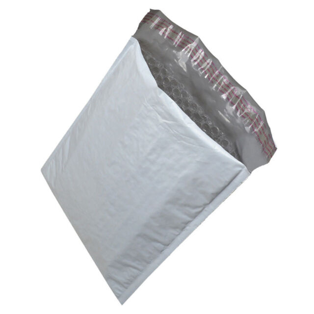 2 300 Poly Bubble Mailers 85x12 Plastic Padded Envelopes Self