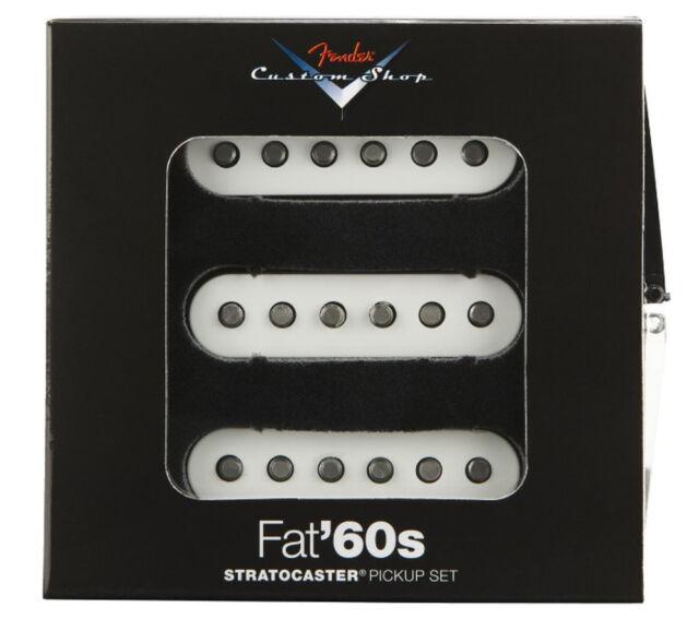 Fender Custom Shop Fat 60s Strat Pickup Set of 3 Made in USA for