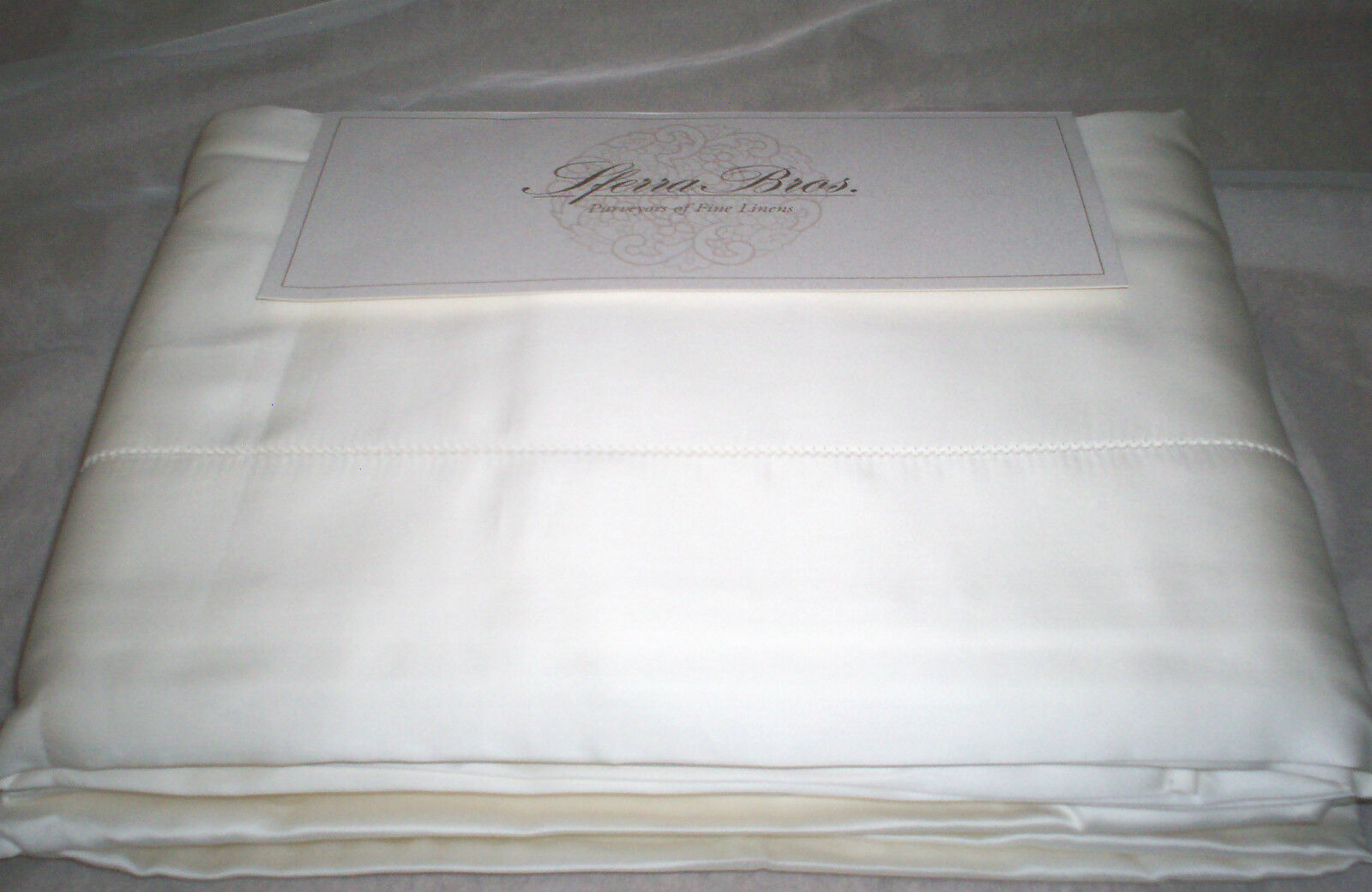 Sister S Bettwäsche Cal Set Sheet Sateen Cotton Long Extra 600tc Allegro Sferra King