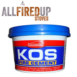 Everbuild Kos Black Fire Cement For Wood Burning Stoves