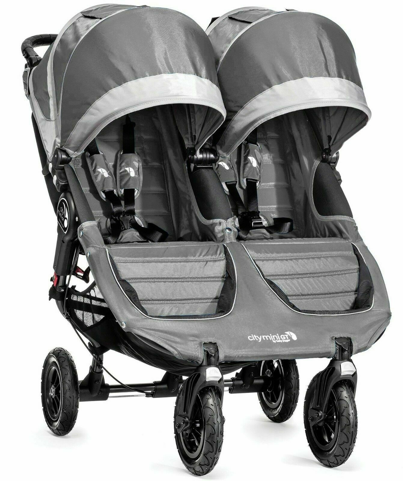 Double Stroller Rain Cover Baby Jogger City Mini Gt Double Twin All Terrain Stroller Steel Gray New