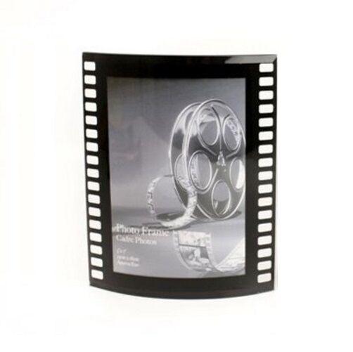 Retro Film Reel Movie Style Photo Picture Frame Single 4x6 Black for