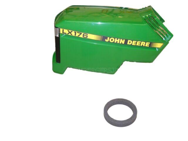 John Deere LX176 Complete Hood Assembly AM132526 AM117723 M110378