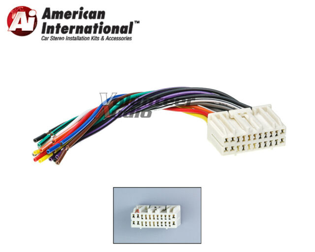 American International Car OEM Radio Wiring Harness CWH637 for sale