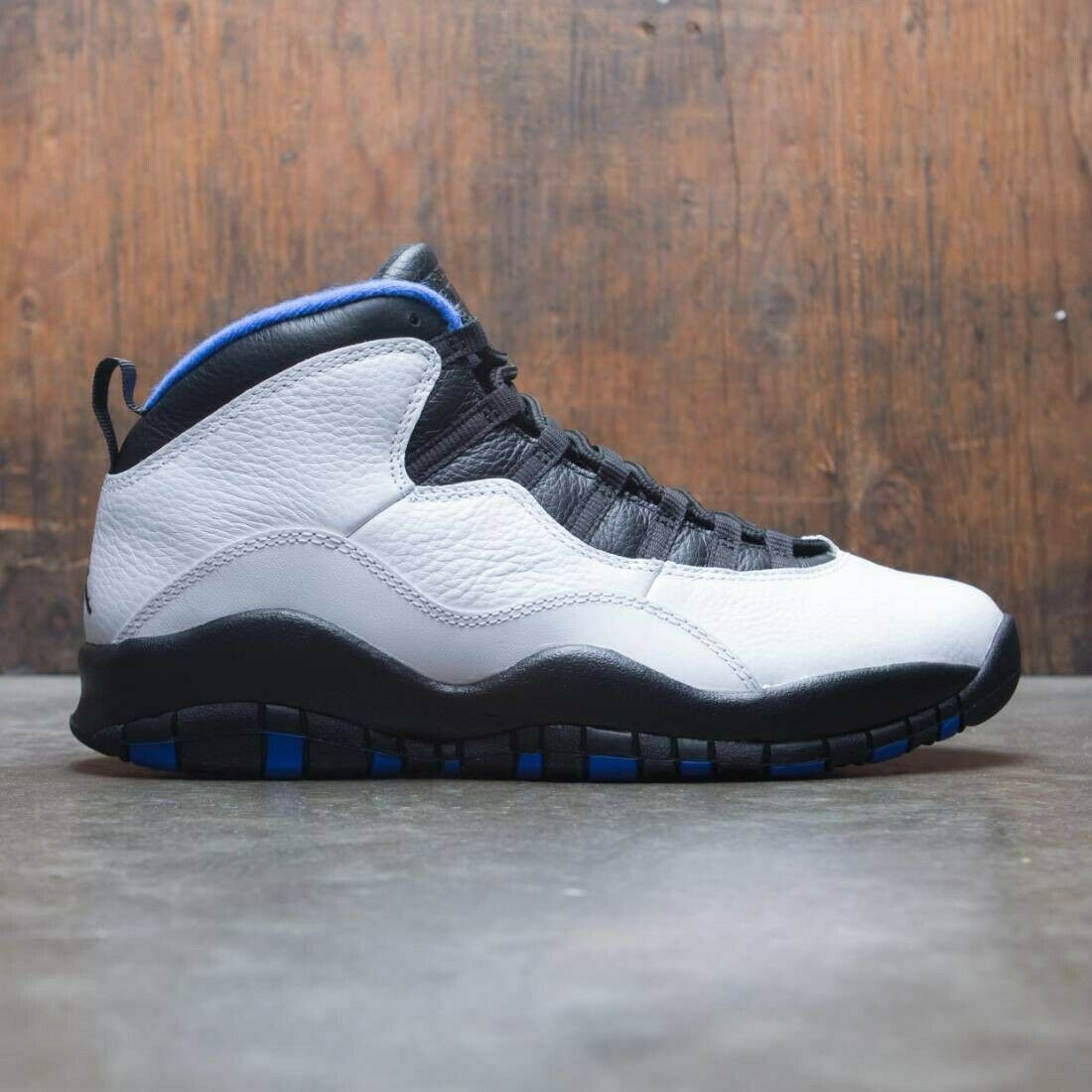 Aquaneo Wc Nike Air Jordan 10 X Retro Orlando Royal Bluee Size 16 310805 108