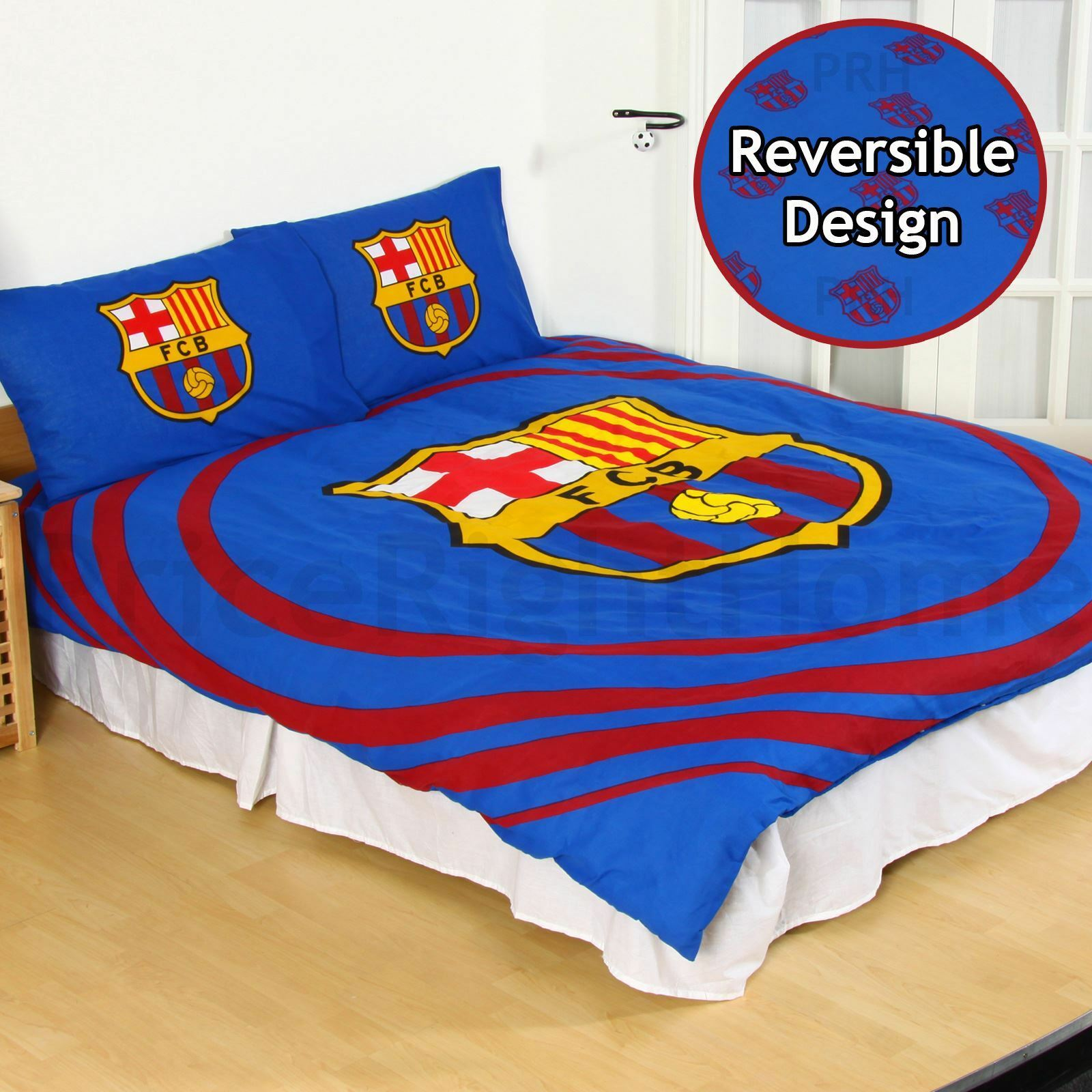 Boys Double Quilt Cover Fc Pulse Double Cover Set Boys Club Crest 2 In 1 Design