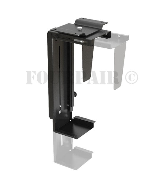 Adjustable Wall Or Under Desk Cpu Pc Computer Case Tower